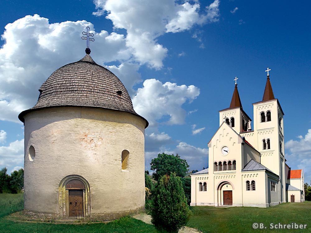 Bíňa – Kostol Panny Márie