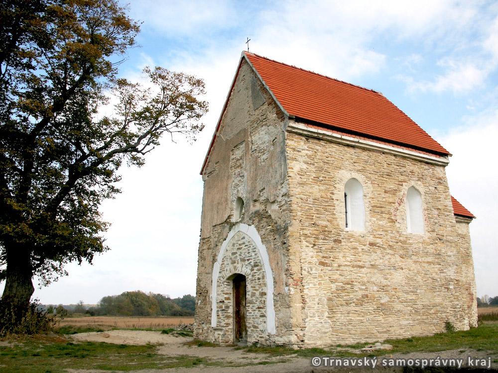 Kopčany (SK)/Mikulčice (CZ) – Veľkomoravské sídlisko – Kostol sv. Margity Antiochijskej