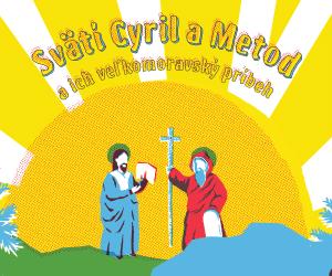 Knižka Svätí Cyril a Metod